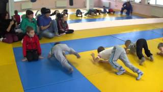 Первый открытый урок по дзюдо - 2. КОВСБИ * Хаттацу * ( ул. Героев Сталинграда, 33 - б )