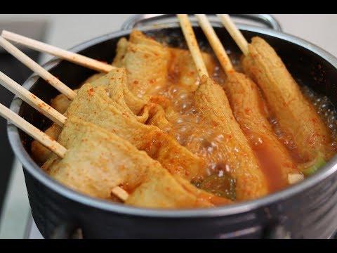 [주방노예] 매콤 오뎅탕 / Spicy Fish Cake Soup