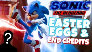 Sonic Movie EASTER EGGS + END CREDITS (Sonic 2 Teaser)