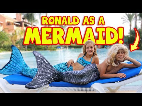 Thumbnail: RONALD BECOMES A MERMAID!!!!!!