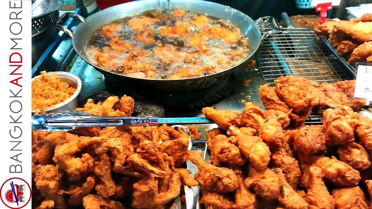 BANGKOK STREET FOOD NIGHT MARKET - Pratunam Night Market