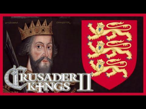 Crusader Kings II William The Conqueror #1 - Three-Way War