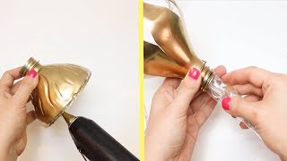 HOW TO MAKE GORGEOUS DIY LAMPS AND LIGHTS