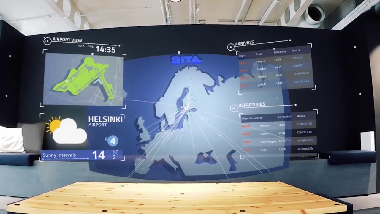 Helsinki Airport And Sita Lab Explore Potential Of Microsoft Hololens