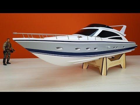 Скоростной катер на бесколлекторной системе! ... Скоро открываем сезон на Thunder Tiger Atlantic