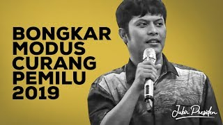 Tim IT BPN Bongkar Tuntas Kecurangan Pemilu 2019