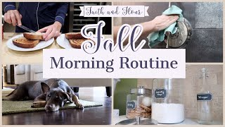 Fall Morning Cleaning Routine  Cleaning Motivation 2019