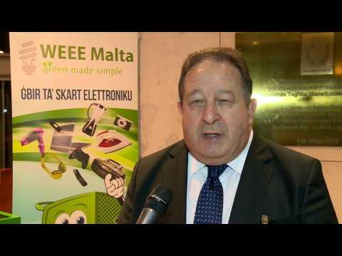 WEEE Malta Launches the WEEE Trolley – Collection Points