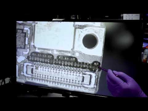 iPhone Data Recovery - Heat Damage - DriveSavers