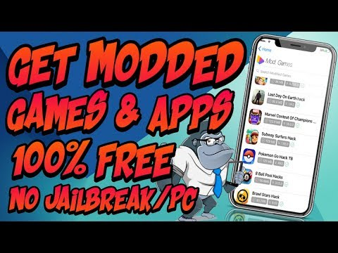 how to get modded games on iphone