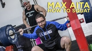 How to Squat Max Aita Style with Mark Bell