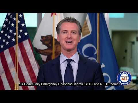 Gov. Gavin Newsom Announces Success of Listos California