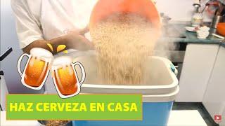 Cómo hacer Cerveza casera. Cerveza artesanal. Receta cerveza 🍾😋