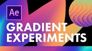 Gradient-Versuche in After Effects, Animation Tutorial