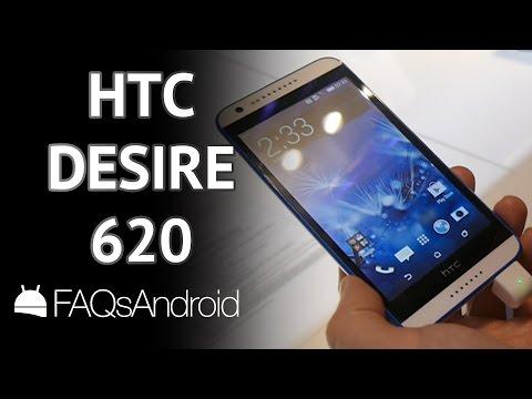 HTC Desire 620: prueba express en español