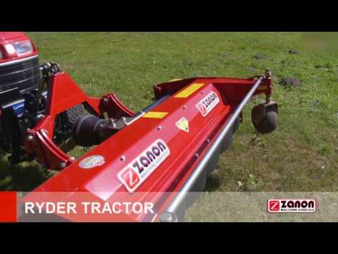 Desbrozadora Ryder Tractor Zanon