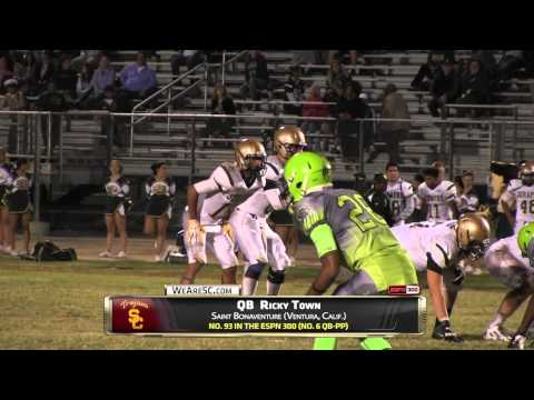 Video: Ricky Town and Daelin Hayes highlights vs. L.B. Cabrillo - 9/5/14