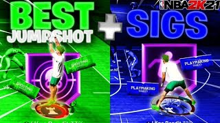 BEST JUMPSHOT & BEST SIGNATURE STYLES REVEALED ON NBA 2K21!! BECOME UNGUARDABLE INSTANTLY!!