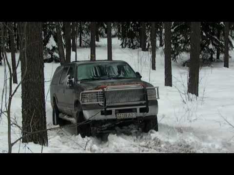 Ford Excursion OFF Road-The Best