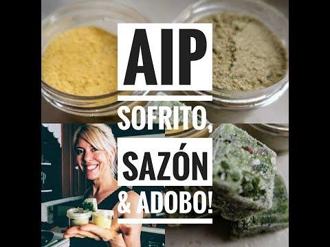 AIP Sofrito, Sazón, &  Adobo