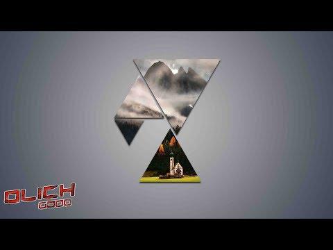 Абстрактная картина из треугольников в Photoshop.