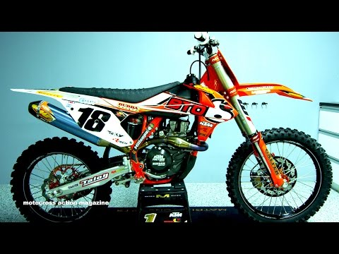 Davi Millsaps Factory BTO Sports KTM 450SXF - Motocross Action Magazine