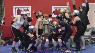 Queens is never gonna give up! - Gotham Girls Roller Derby