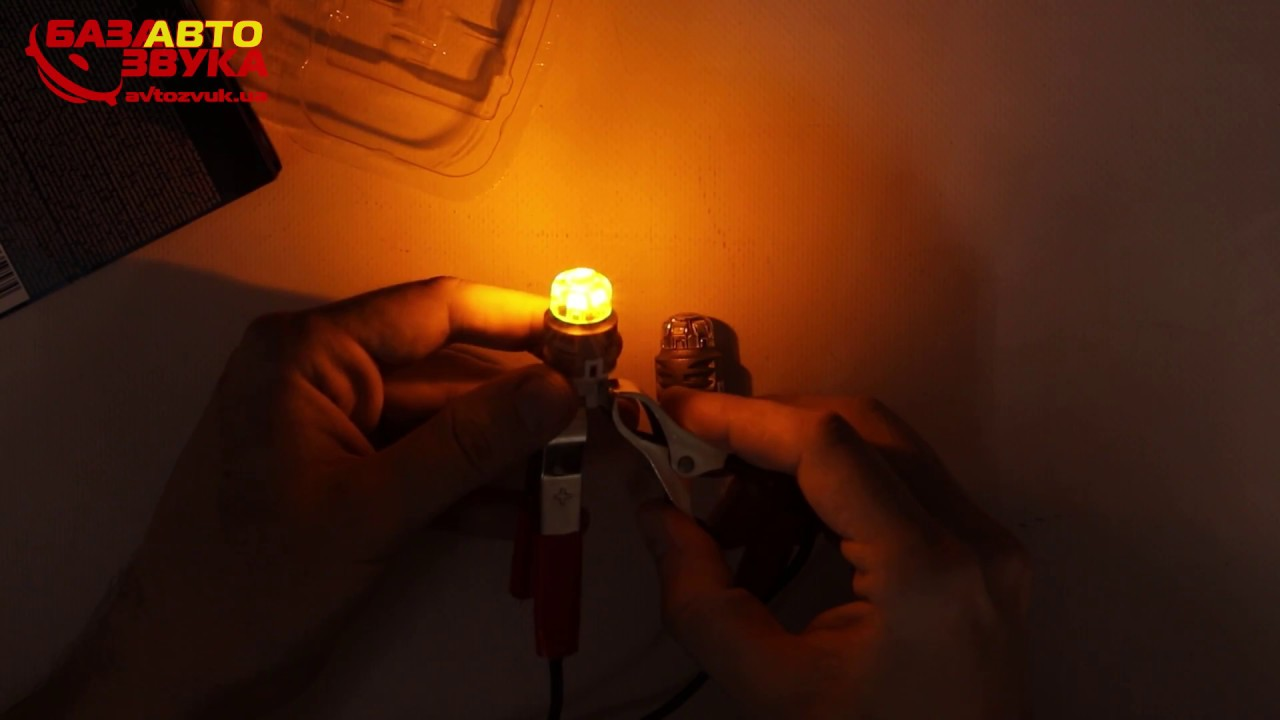 Osram Premium LED W21//5W 7915YE-02B Amber Anzeigen Gluhbirnen W3x16q Twin
