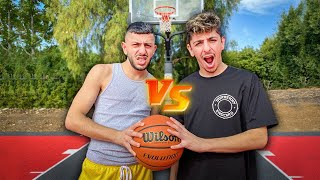 BRAWADIS vs FAZE RUG!! **INTENSE BASKETBALL 1v1**