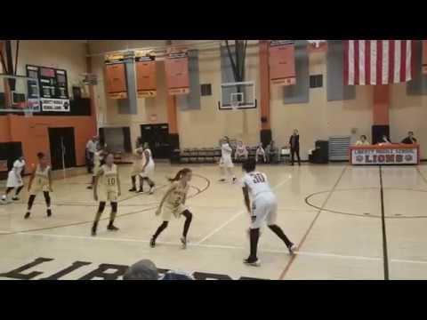Monrovia Middle 7th Grade Girls vs Liberty (Full Game)12/7/2017