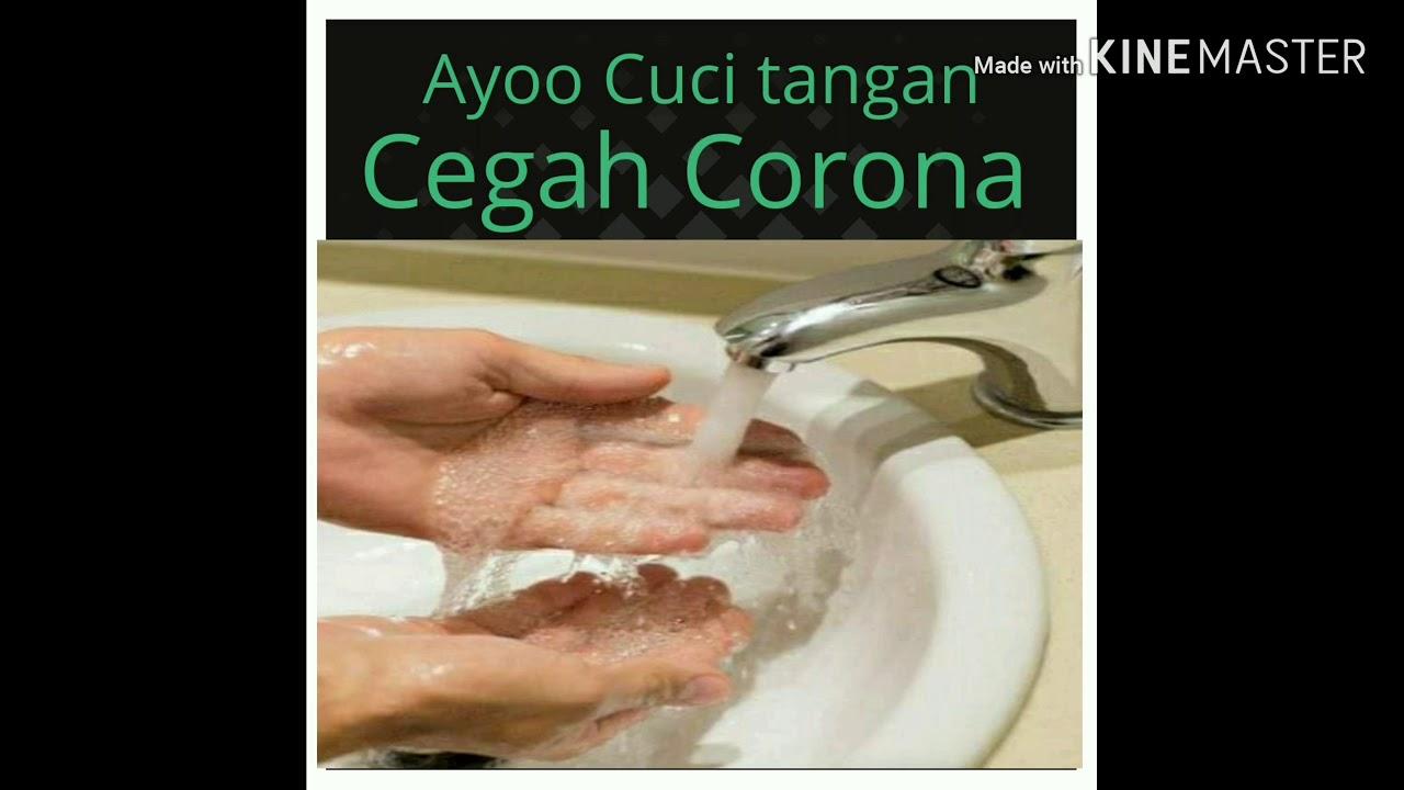 """Kampanye Pencegahan Covid 19 Pelajar """"Ayo cuci tangan ..."""