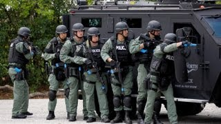 SWAT Team Raids Farm for