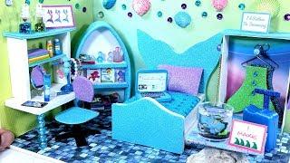 DIY Miniature Mermaid Dollhouse Room (NOT A KIT)