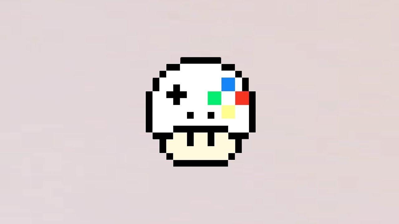 Comment Dessiner Un Champignon Gameur En Pixel Art