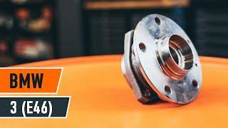 Montaje Juego de cojinete de rueda delantera y trasera BMW 3 SERIES: vídeo manual