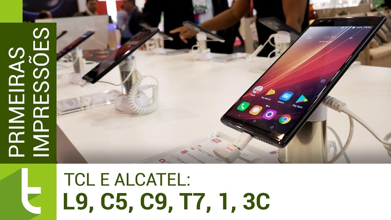 TCL e Alcatel trazem novos smartphones básicos na Eletrolar 2018
