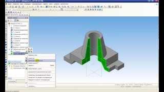 Урок 3 Разрез простой КОМПАС 3D
