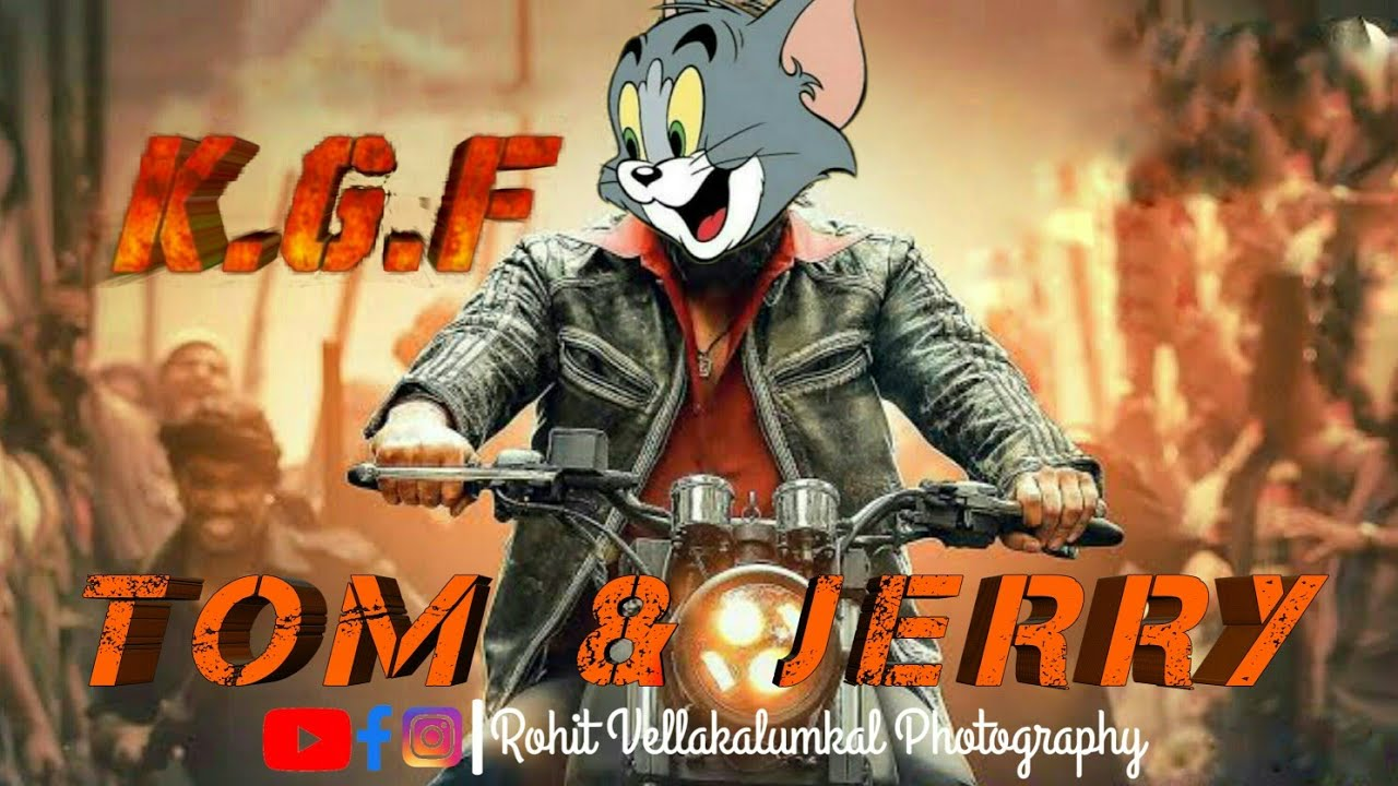 tom#animation#cartoon K.G.F.....Tom and Jerry version editing part 3 -  YouTube