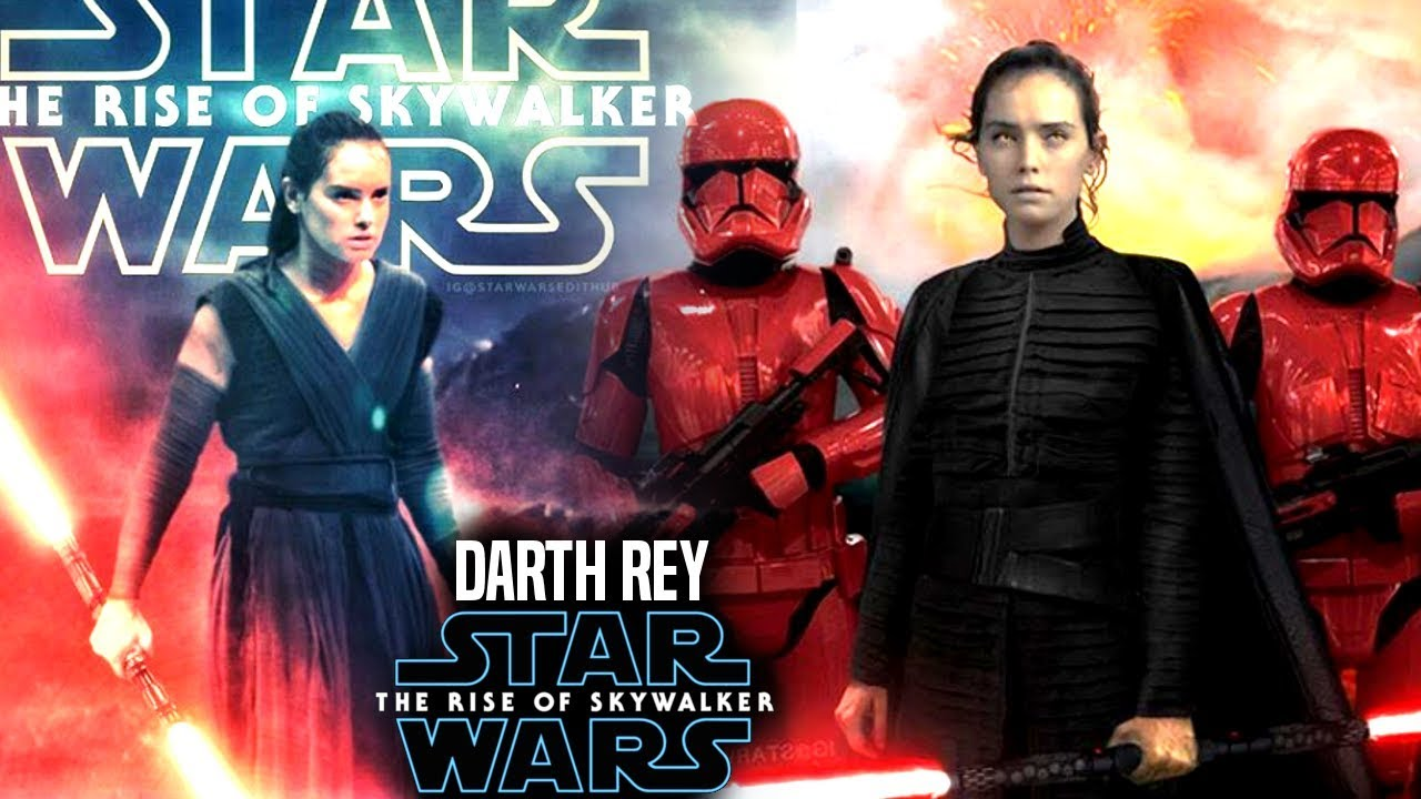 The Rise Of Skywalker Darth Rey Daisy Ridley Responds Star Wars Episode 9 Youtube