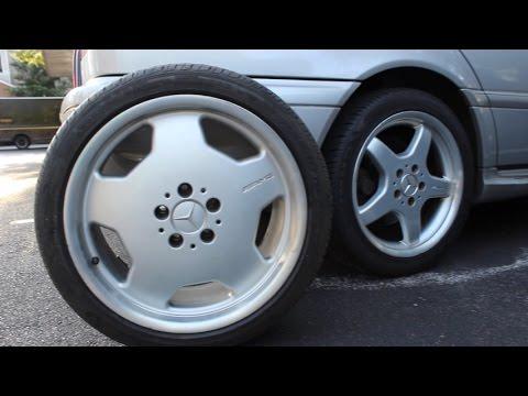 Mercedes Benz C43 Amg W202 Oem Amg 17 5 Spoke Vs 18