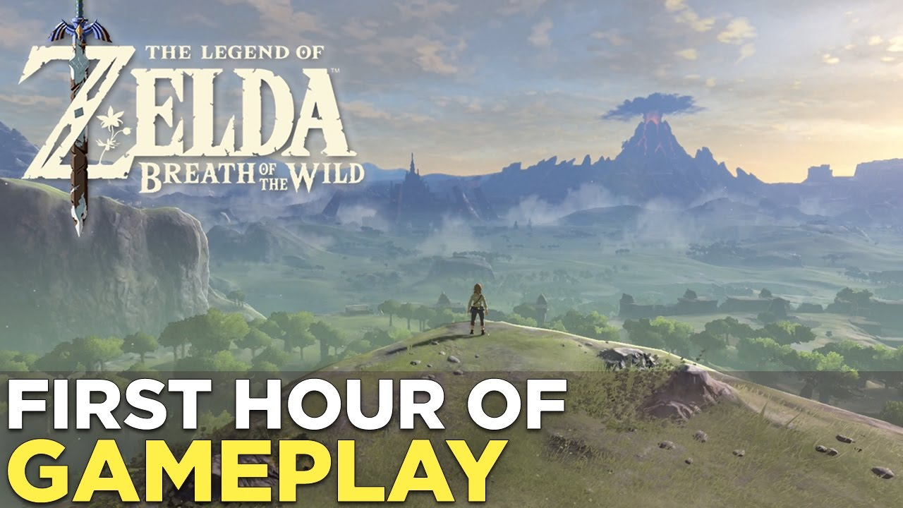 The FIRST HOUR of The Legend of Zelda: Breath of the Wild on NINTENDO  SWITCH!
