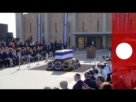 Presencias notables y ausencias destacadas en los funerales de Ariel Sharón