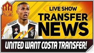 Man Utd Want Douglas Costa Transfer! Man Utd Transfer News