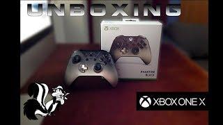 """UNBOXING l Control Xbox One """" PHANTOM BLACK """" l Edición Limitada l 1080p Hd"""