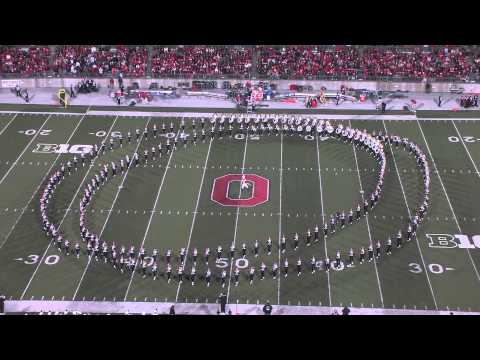 """The Ohio State University Marching Band Performs """"Hollywood Blockbusters"""""""