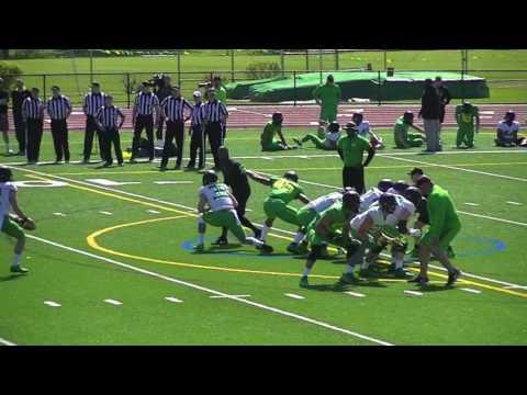 Oregon Ducks Football Spring Practice at Jesuit HS (4/16/17)