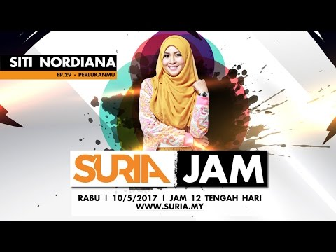Siti Nordiana - Perlukanmu @ Suria Jam Ep29