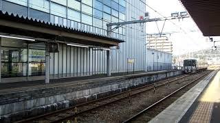 JR舞鶴線223系5500番台折り返し東舞鶴行き西舞鶴駅到着