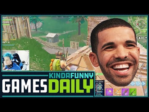 Drake Causes New Twitch Record-  Kinda Funny Games Daily 03.15.18