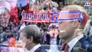 England France à  Wembley La Marseillaise